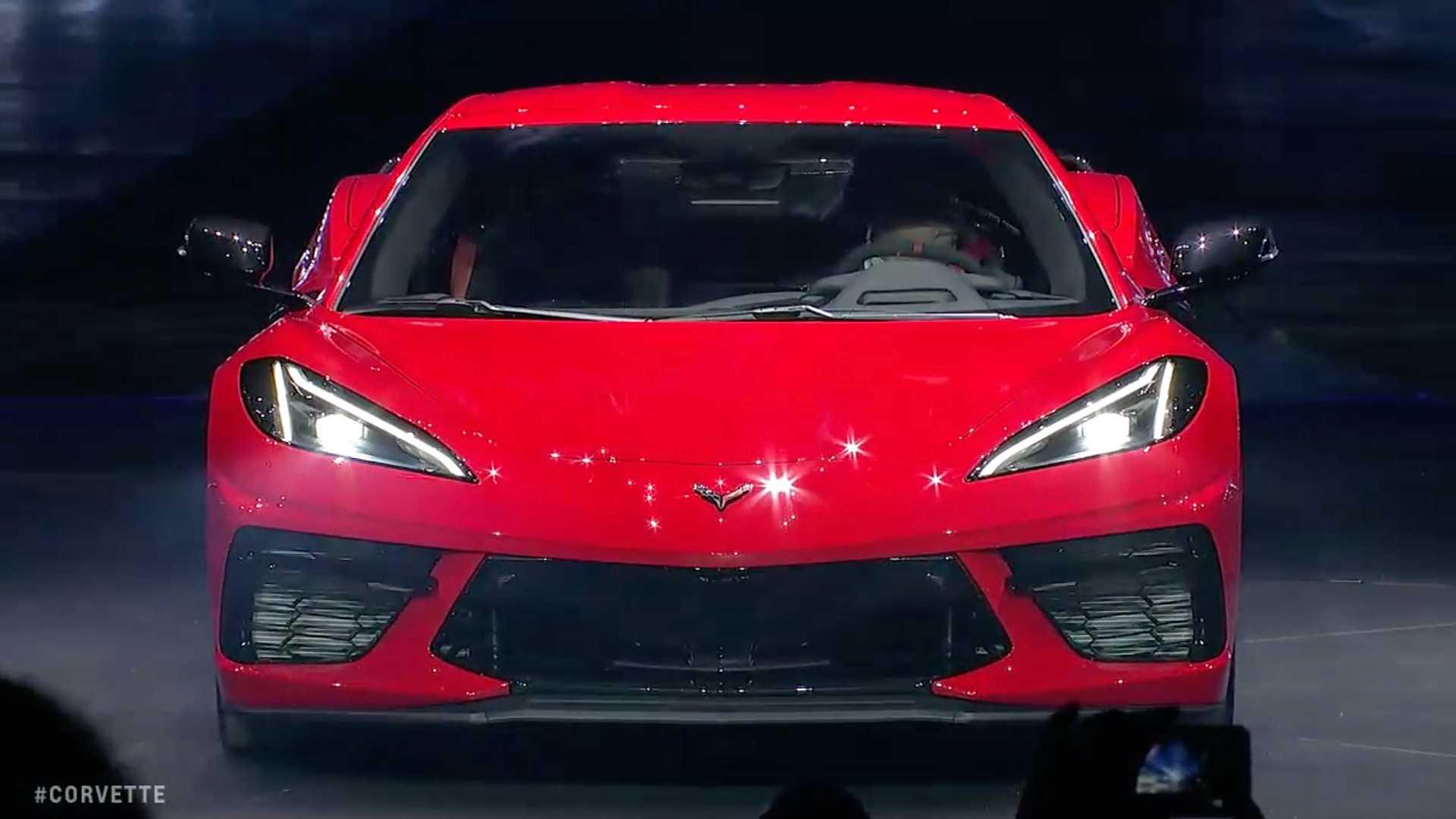 2020 Chevrolet Corvette C8 Front