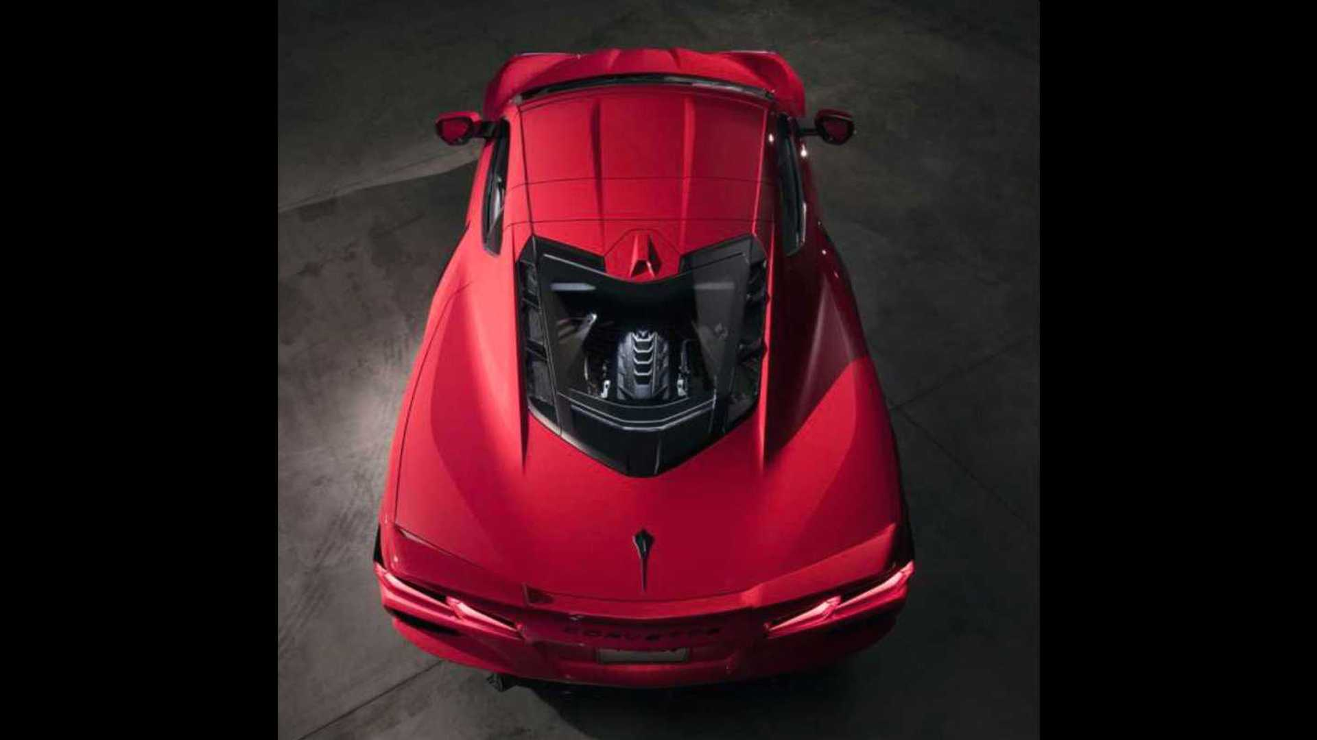 2020 Chevrolet Corvette C8 Roof