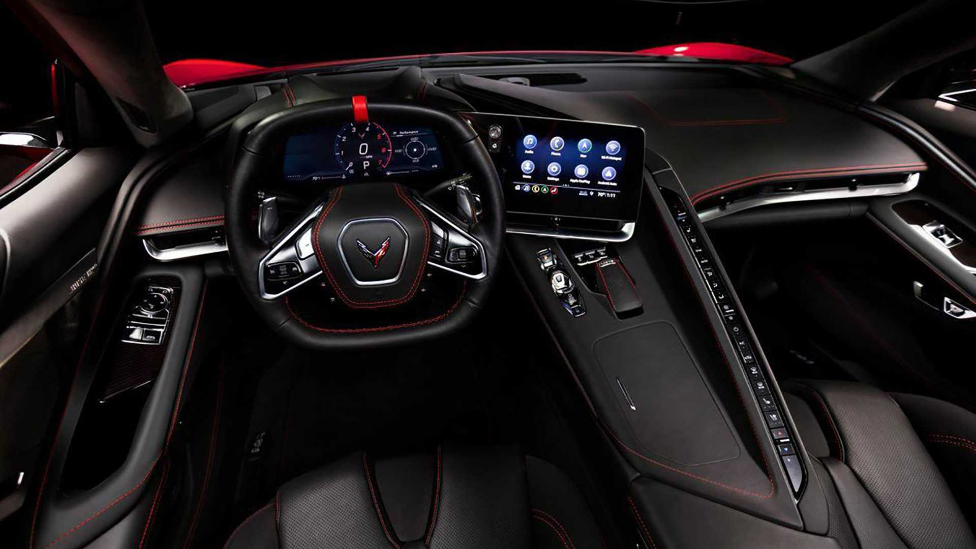 2020 Chevrolet Corvette C8 Interior