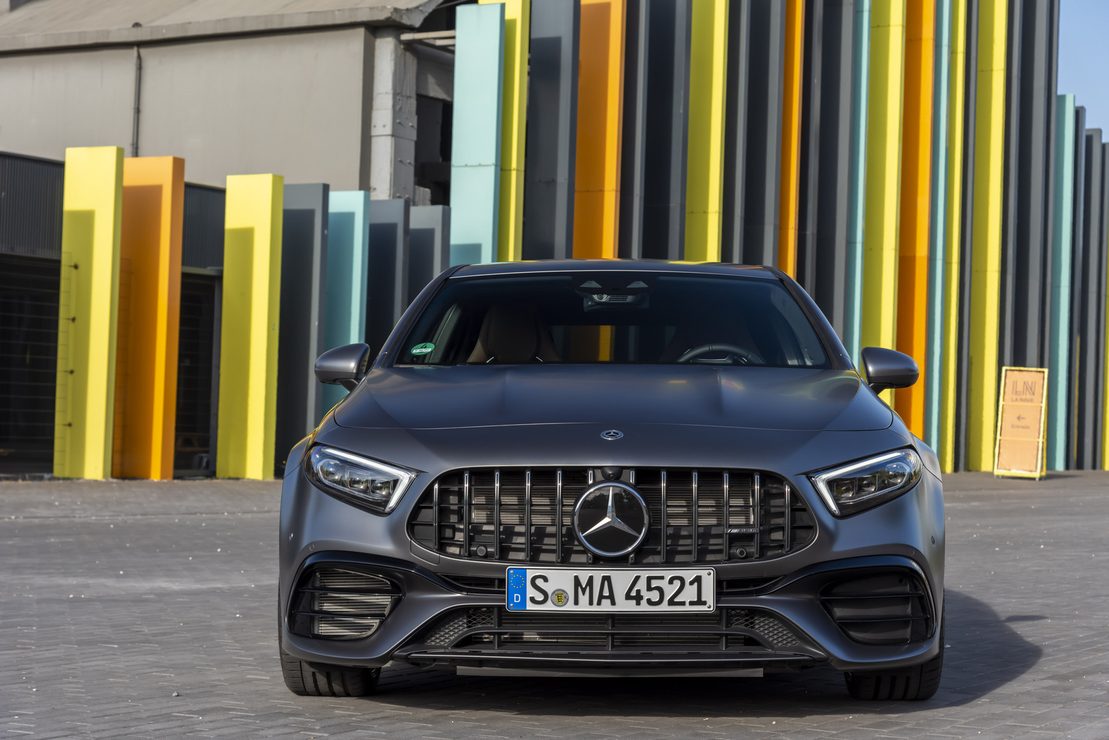 2020 Mercedes-AMG A45 S Front