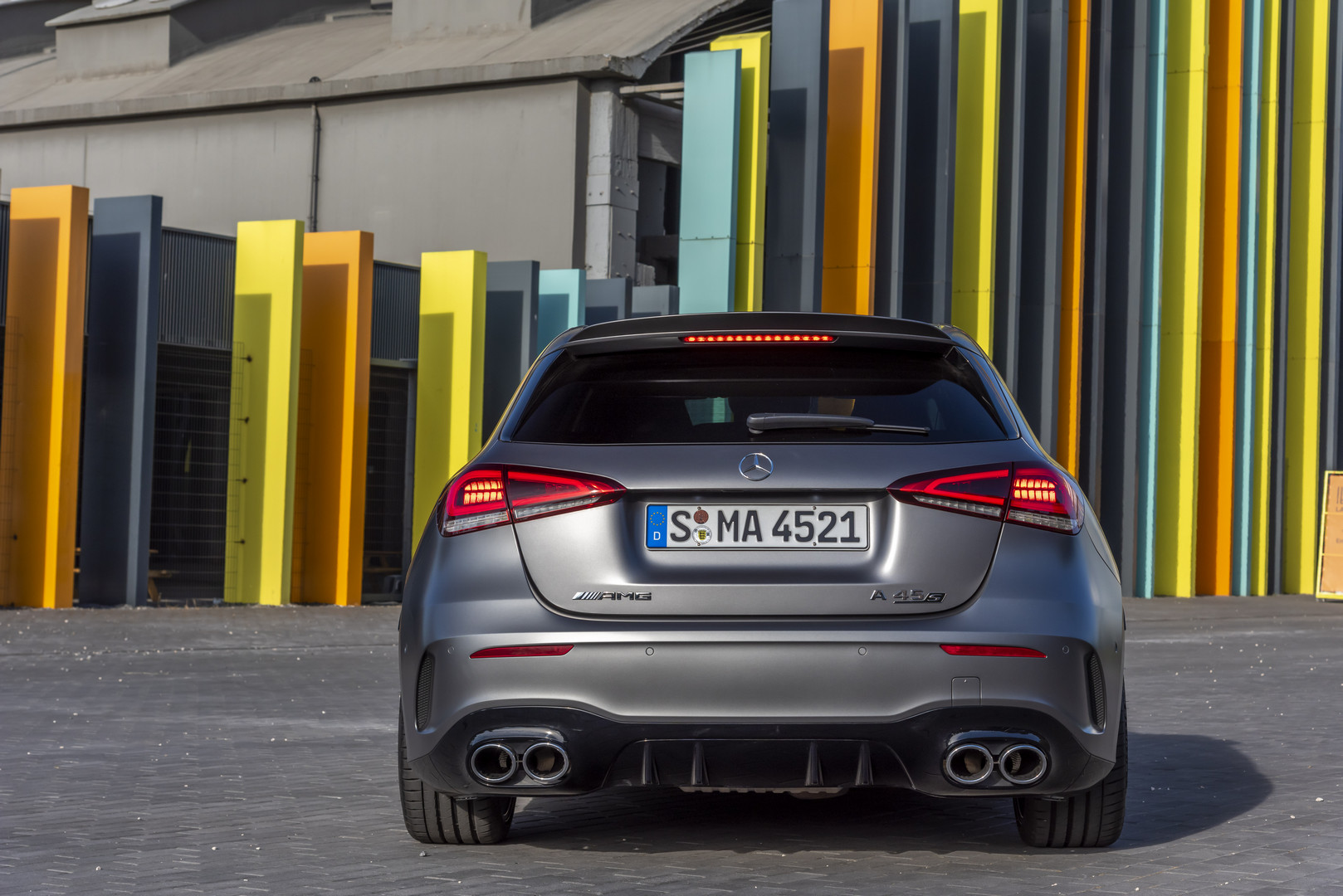 2020 Mercedes-AMG A45 S Rear Lights
