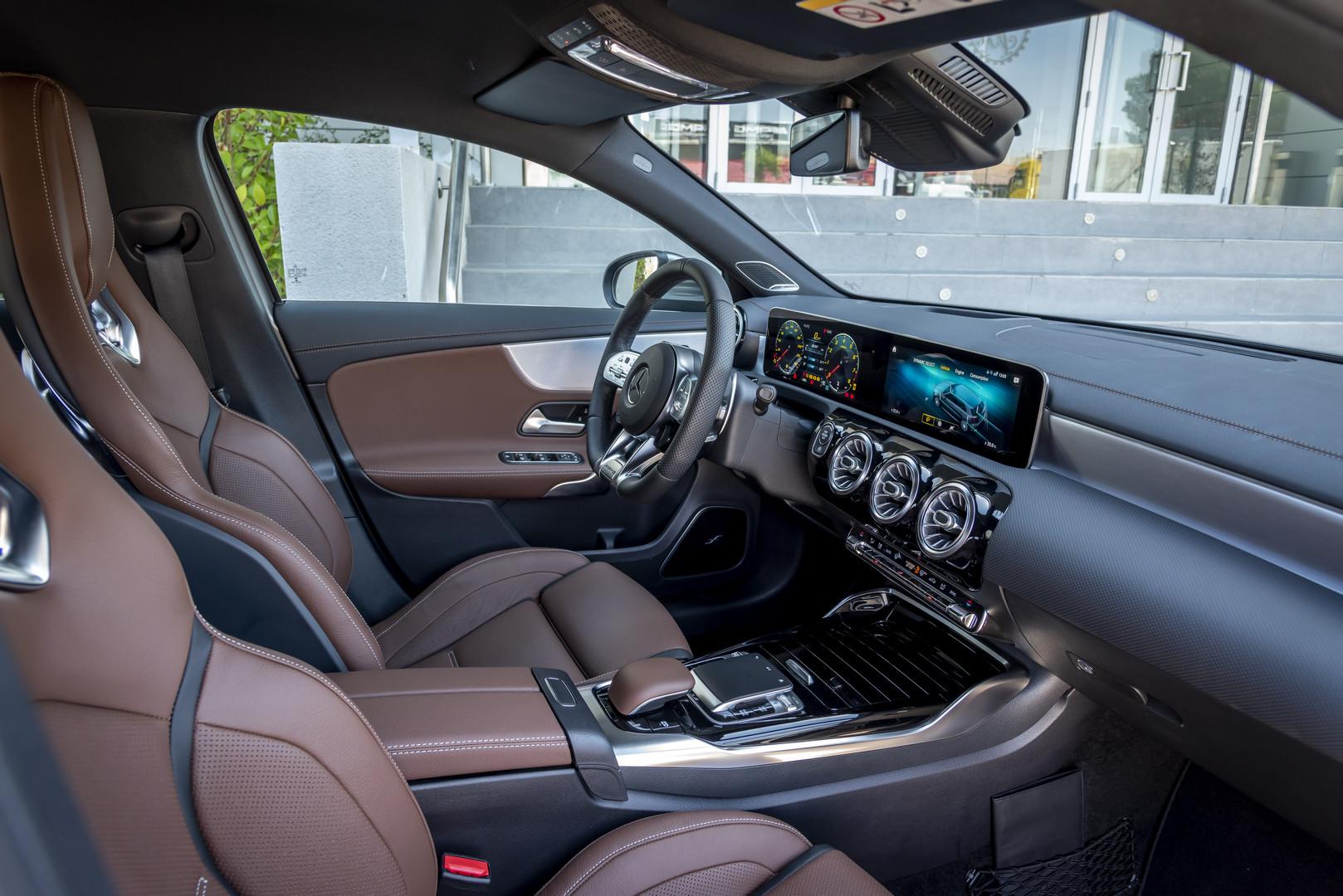 2020 Mercedes-AMG A45 S Seats