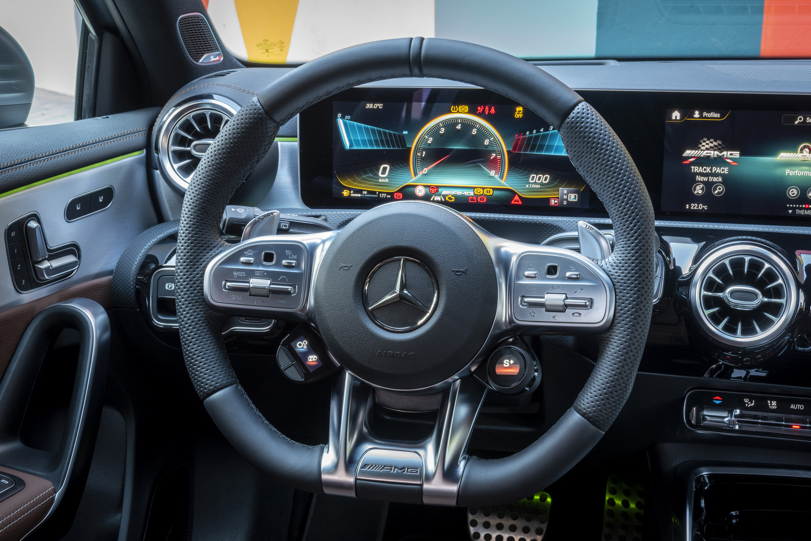 2020 Mercedes-AMG A45 S Steering Wheel