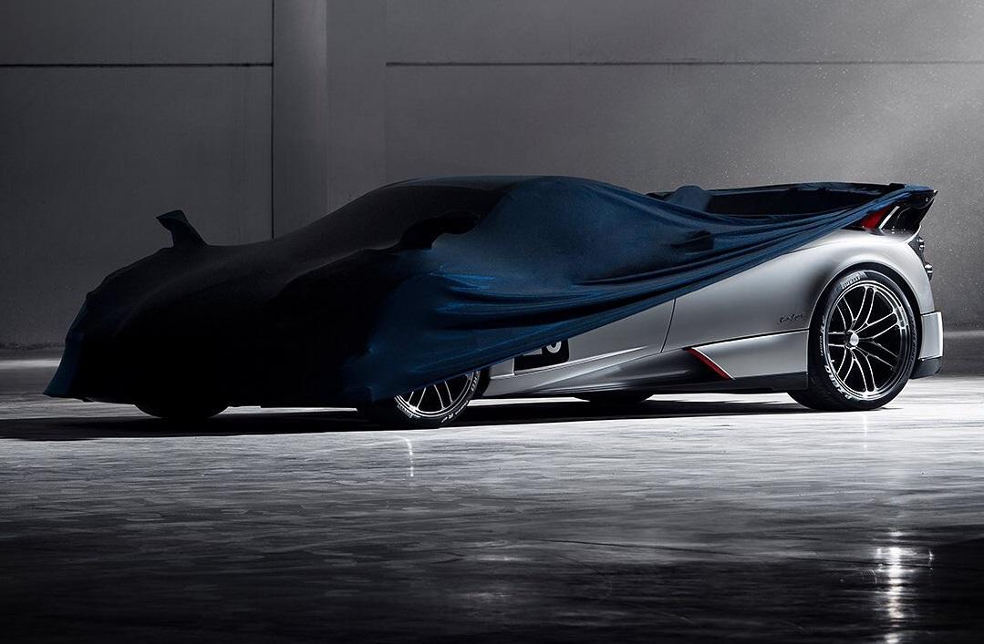 Pagani Huayra BC Roadster Teased