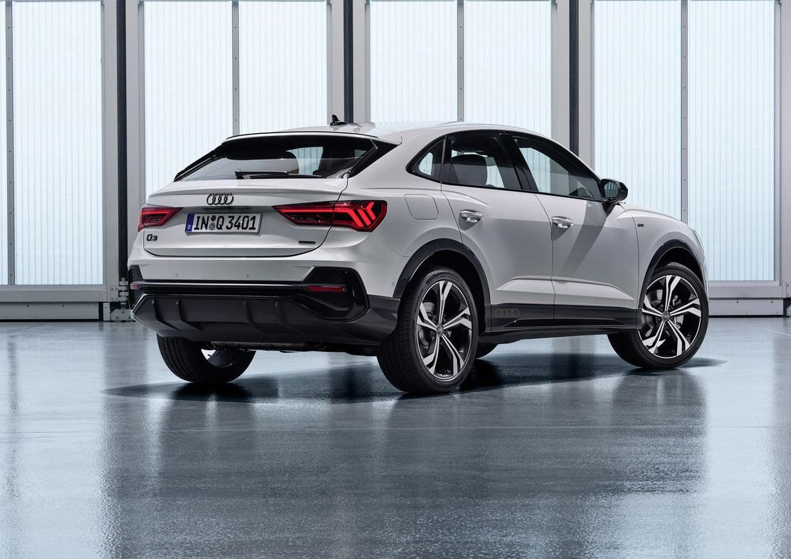 Audi Q3 Sportback Rear Side