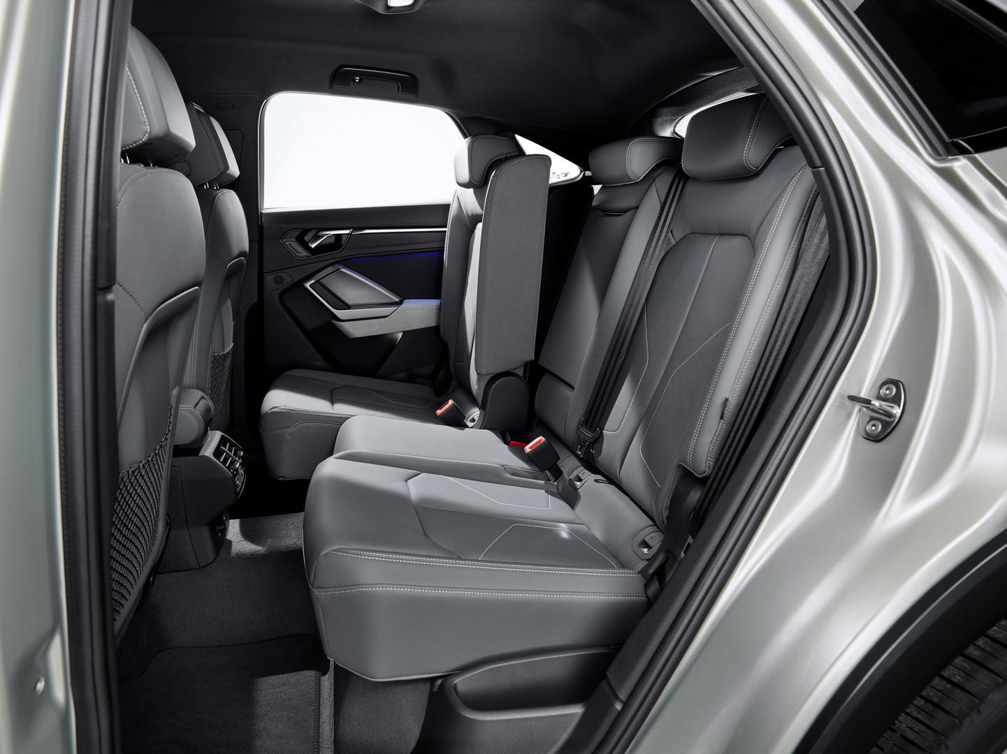 Audi Q3 Sportback Leg Room