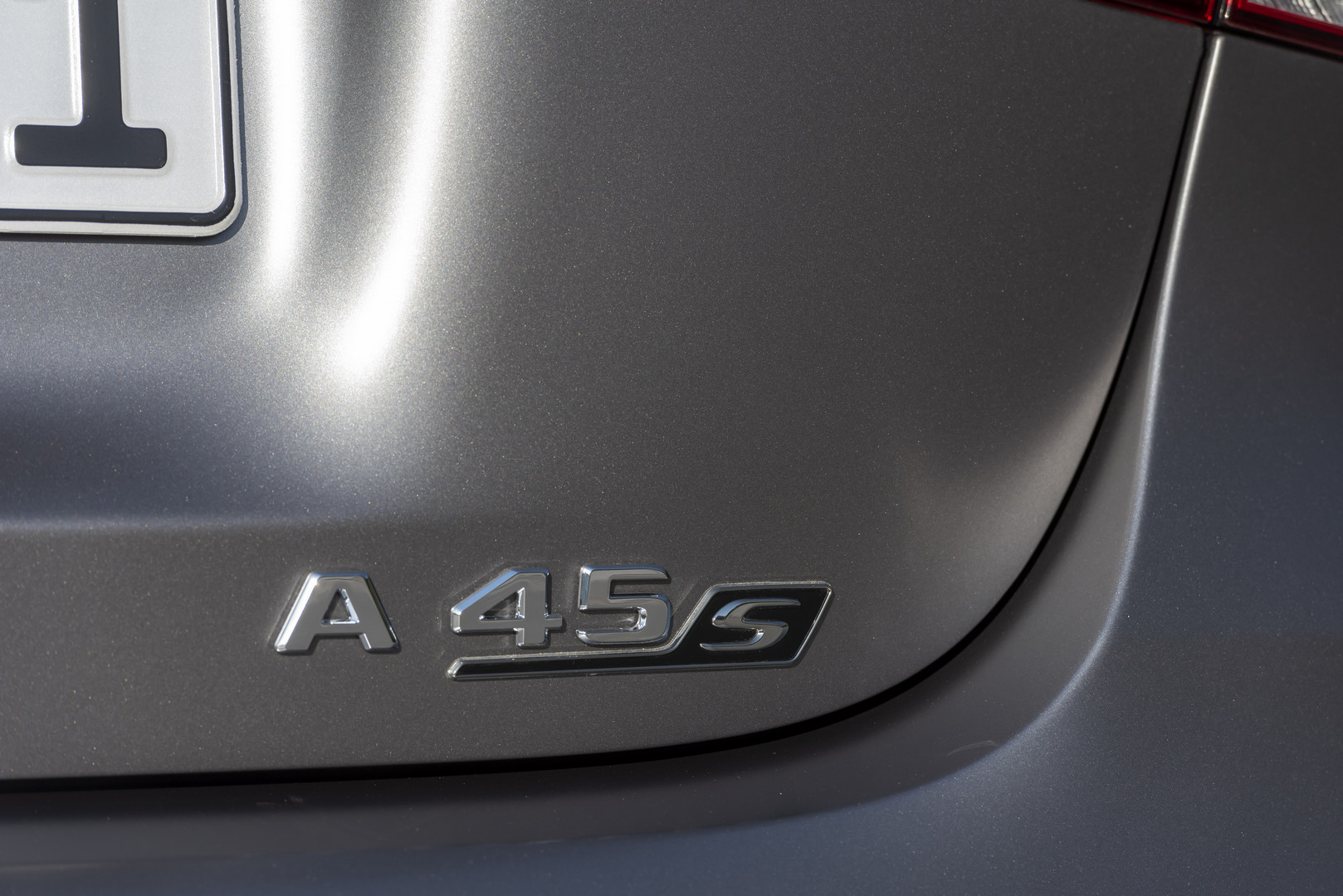 A45 S AMG Badge