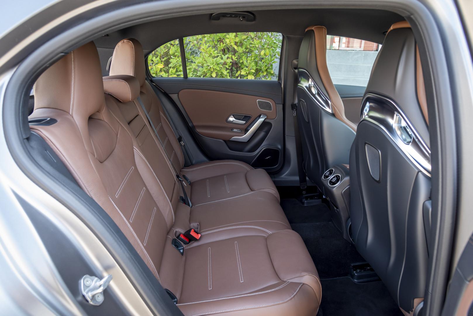 2020 Mercedes-AMG A45 S Leg Room