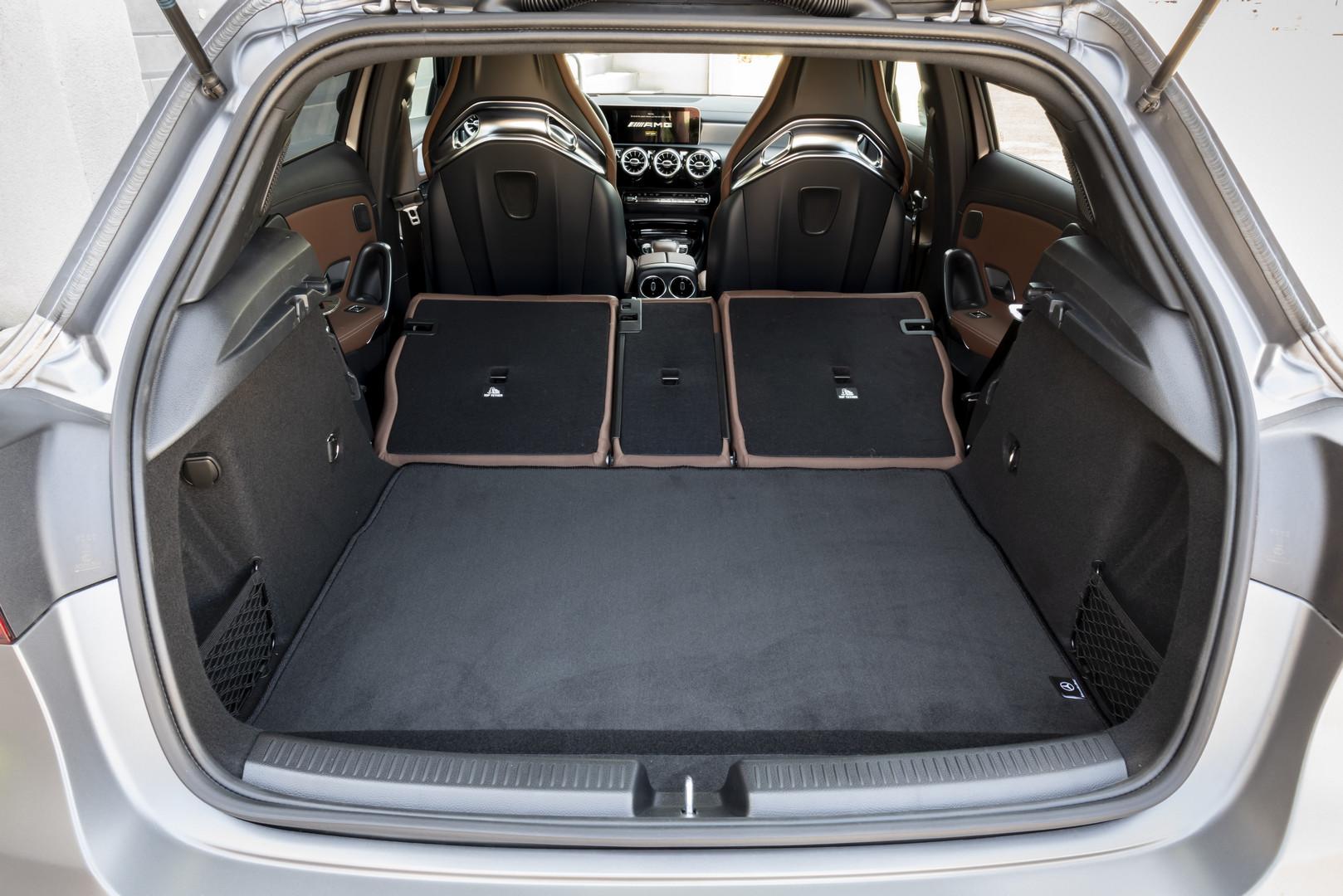 Mercedes-AMG A45 S Trunk