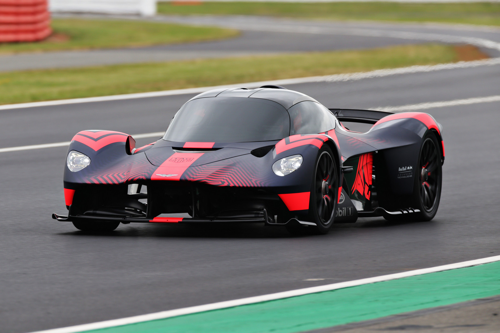 Aston Martin Valkyrie Makes Public Debut at British Grand Prix 2019