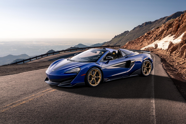 Aurora Blue McLaren 600LT Spider