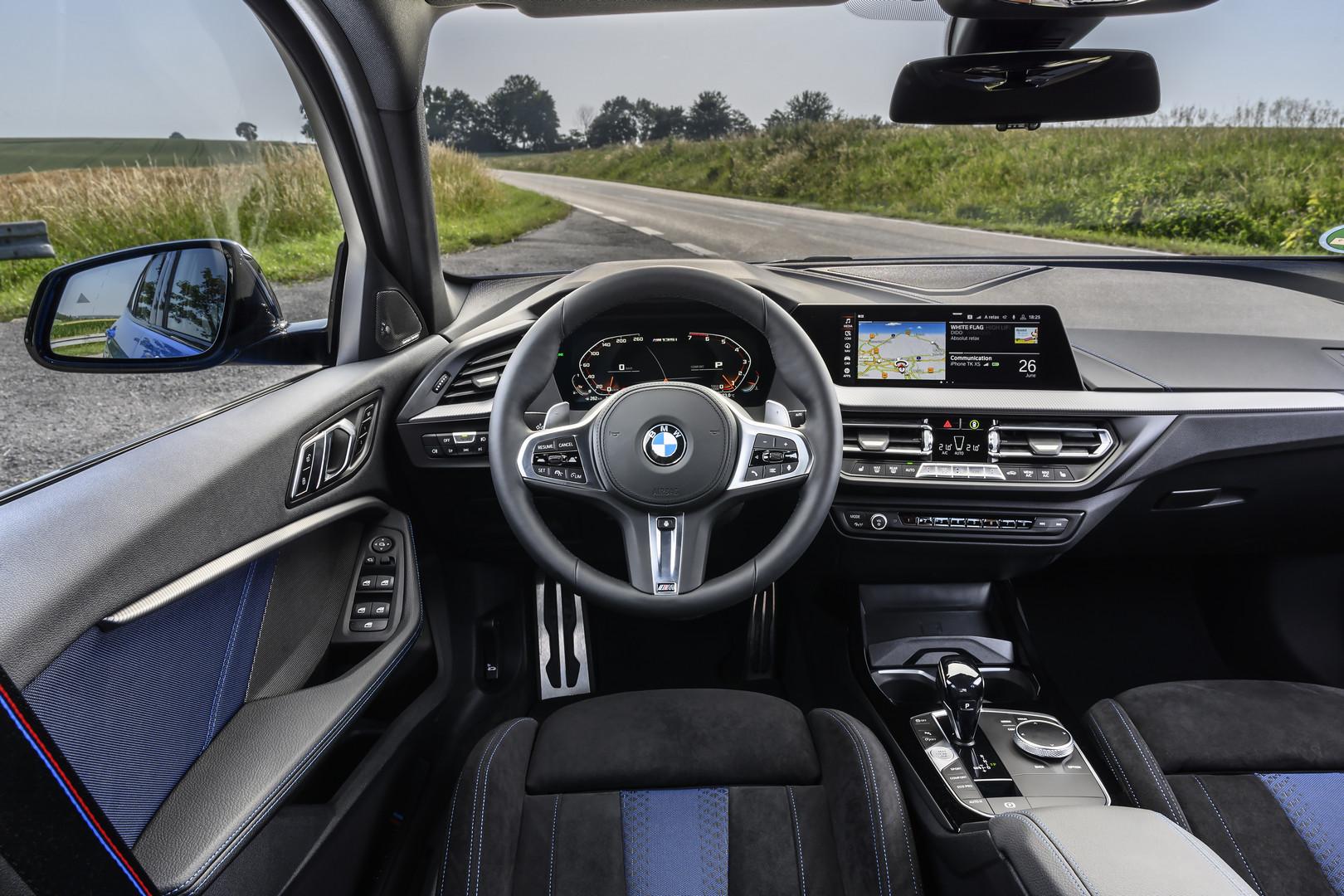 2020 BMW M135i Steering Wheel