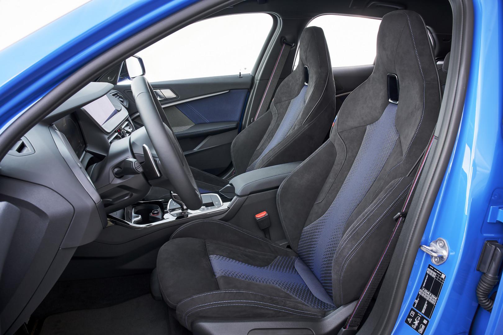2020 BMW M135i Seats