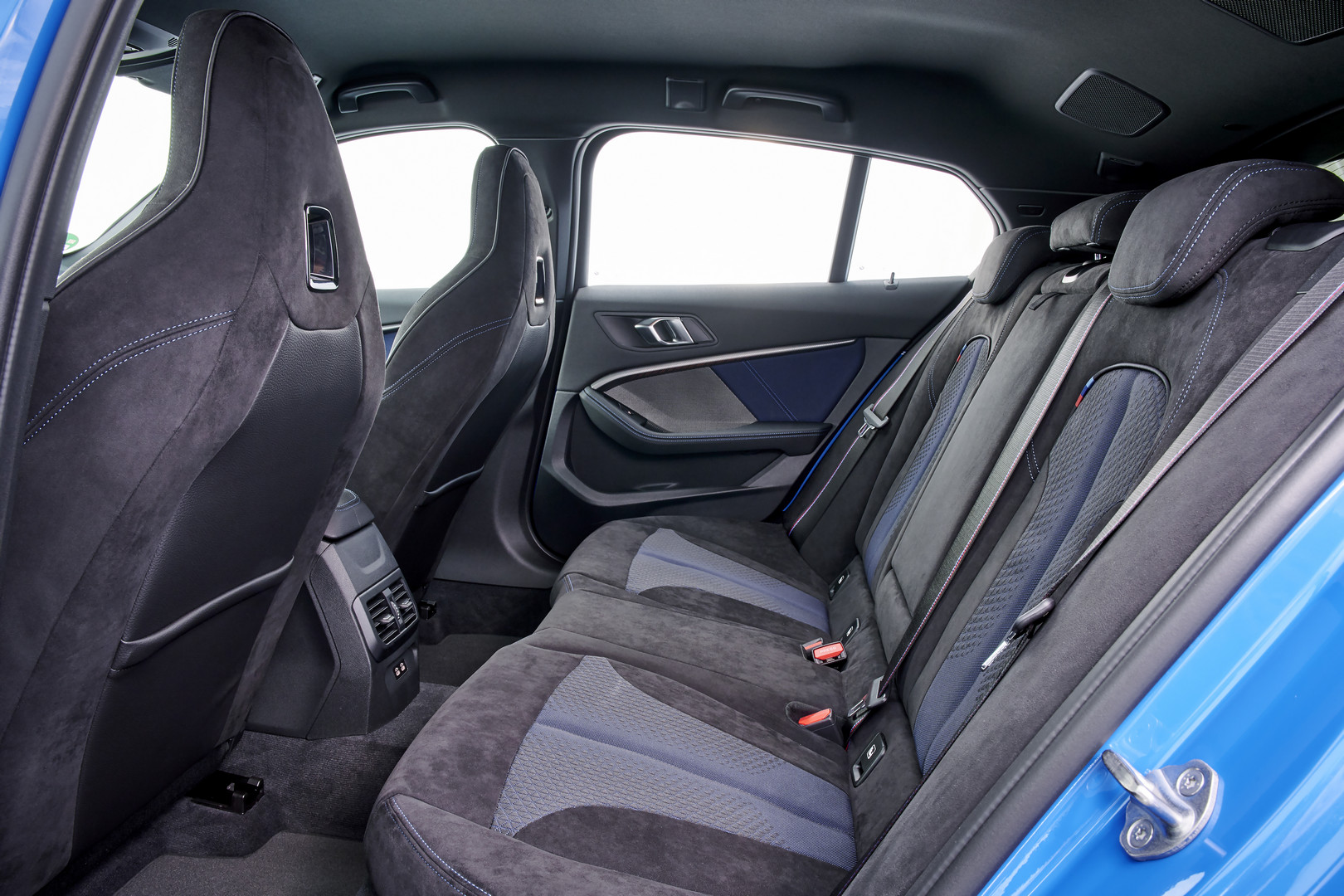 2020 BMW M135i Rear Seats