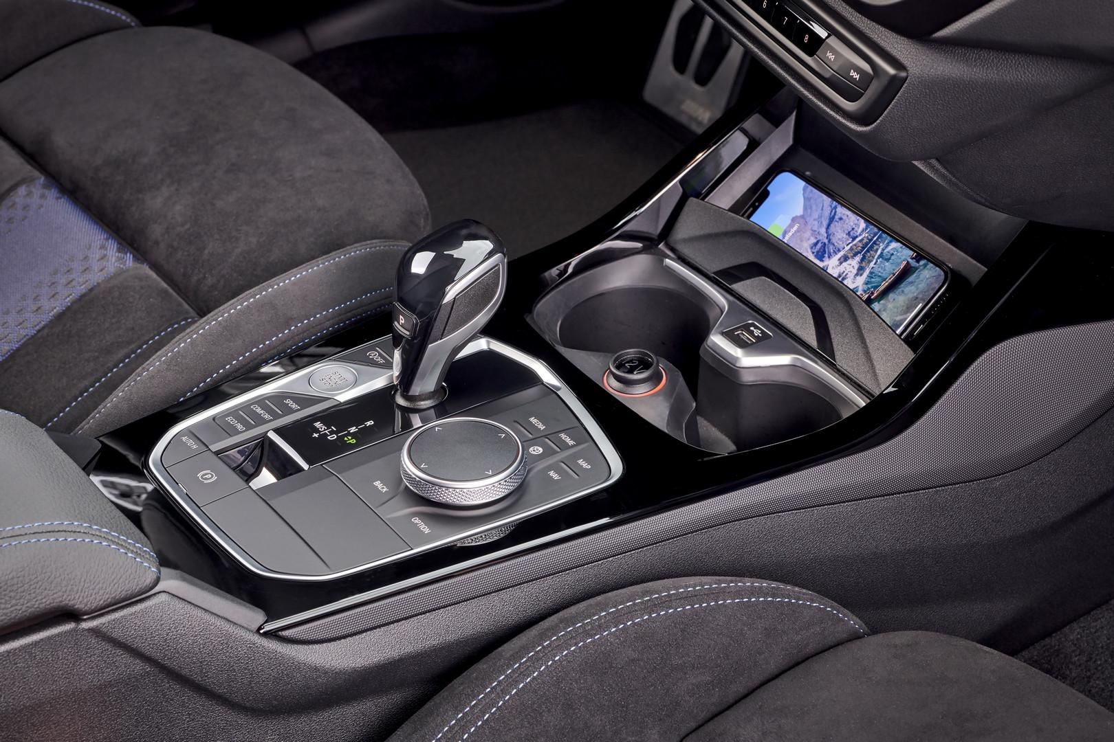 BMW M135i Gear Selector