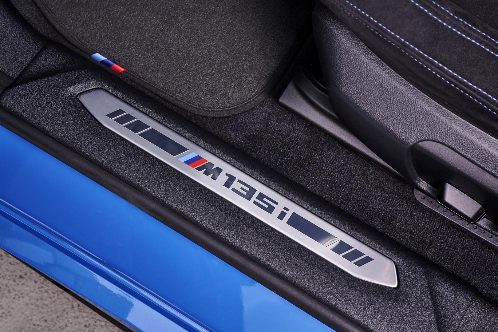 BMW M135i Door Badge