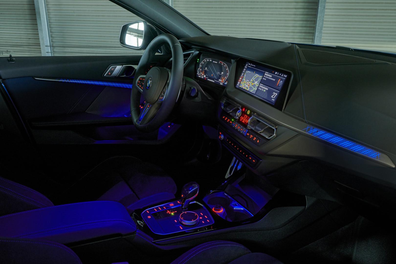 2019 BMW M135i Interior Lights