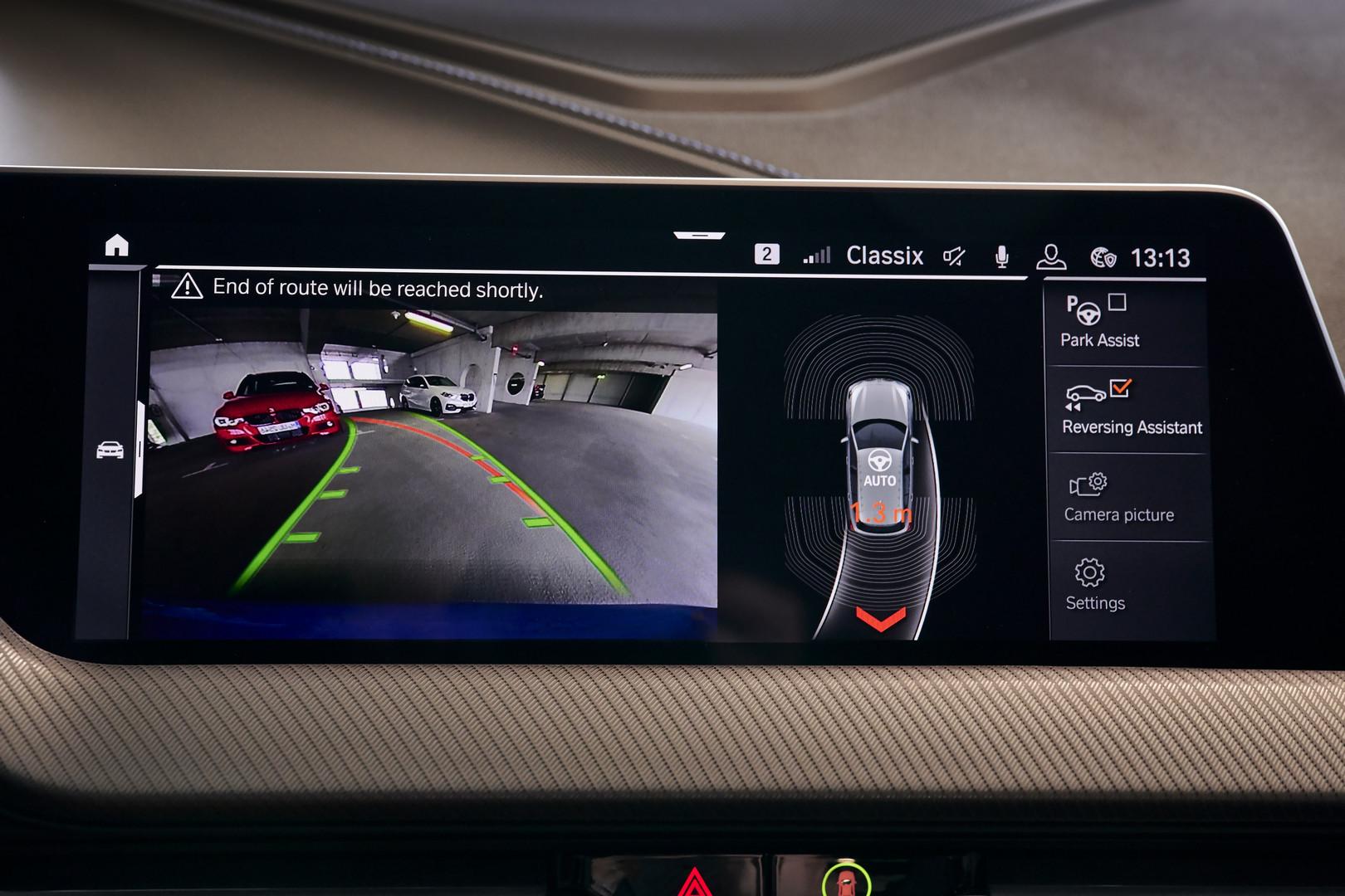 BMW M135i Reverse Camera