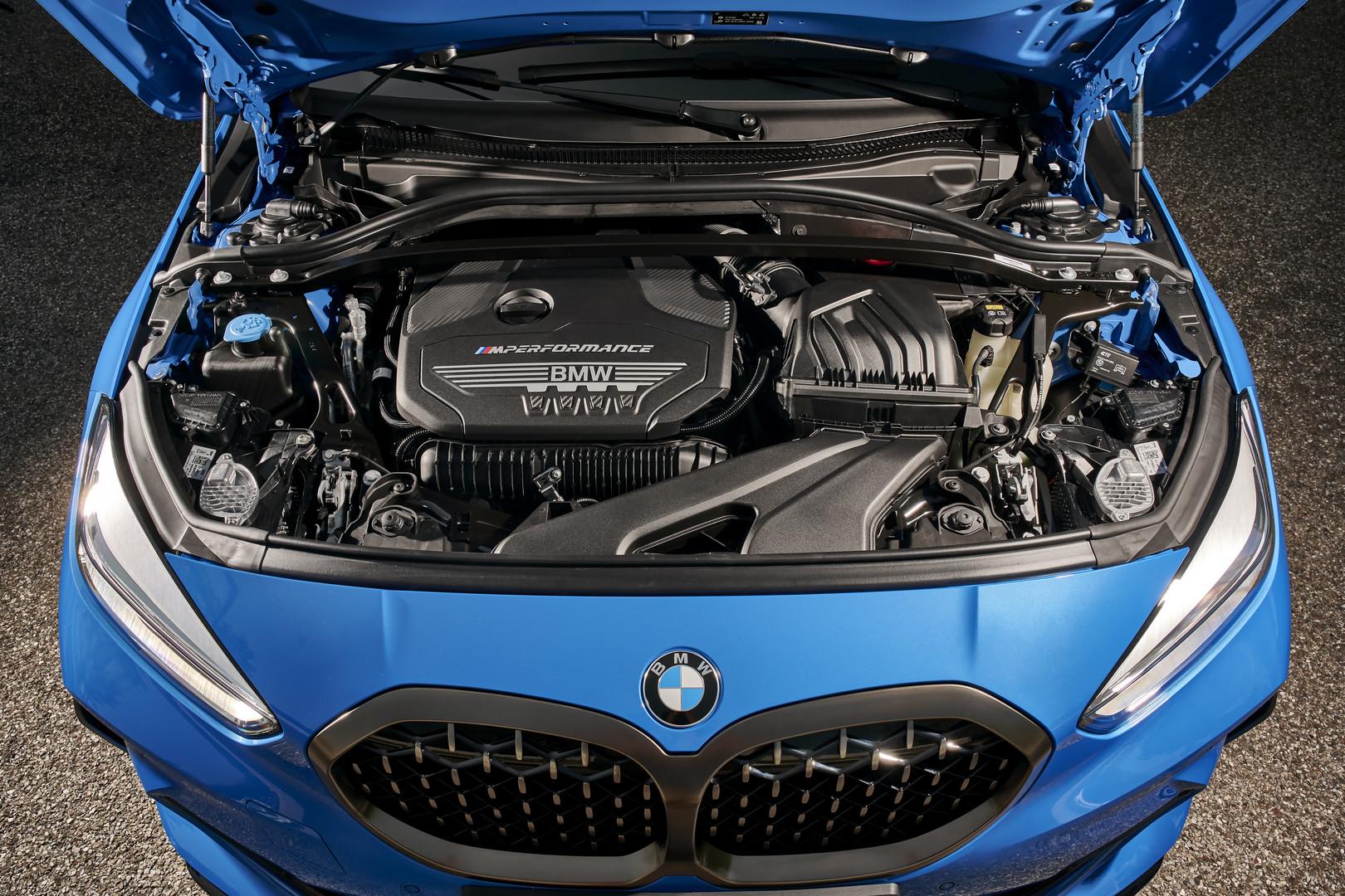 2019 BMW M135i Engine
