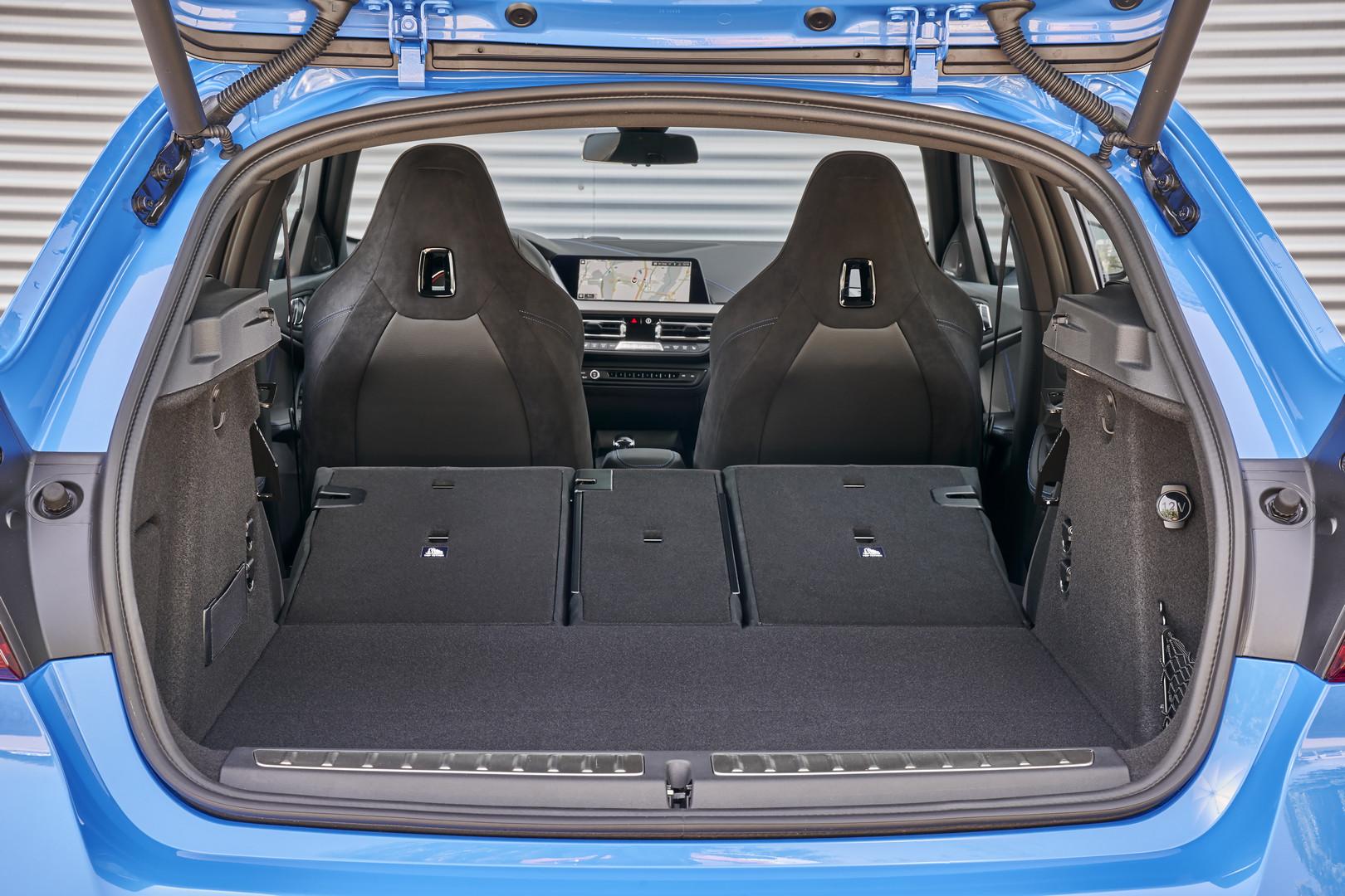 2019 BMW M135i Boot