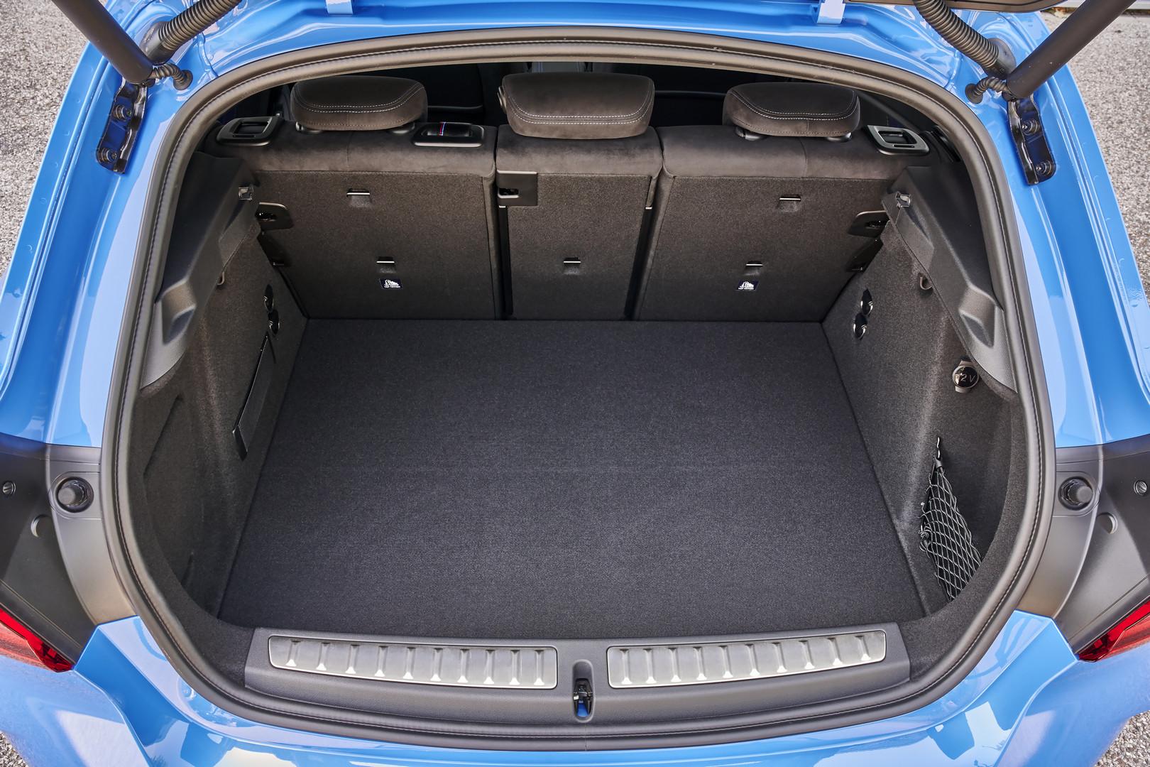 BMW M135i Trunk