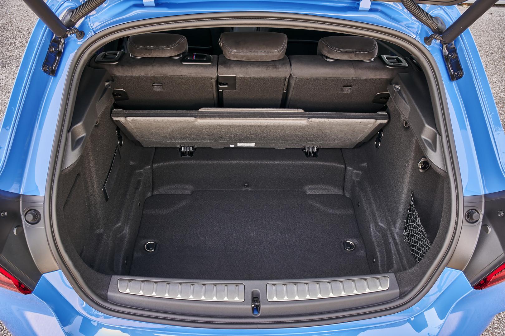 BMW M135i Under Boot