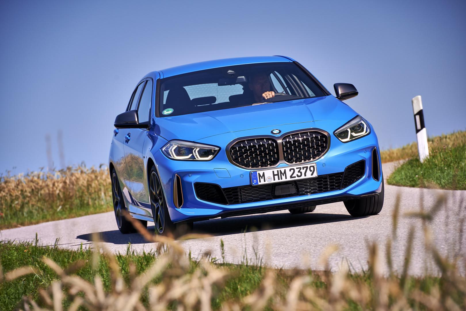 Blue 2019 BMW M135i