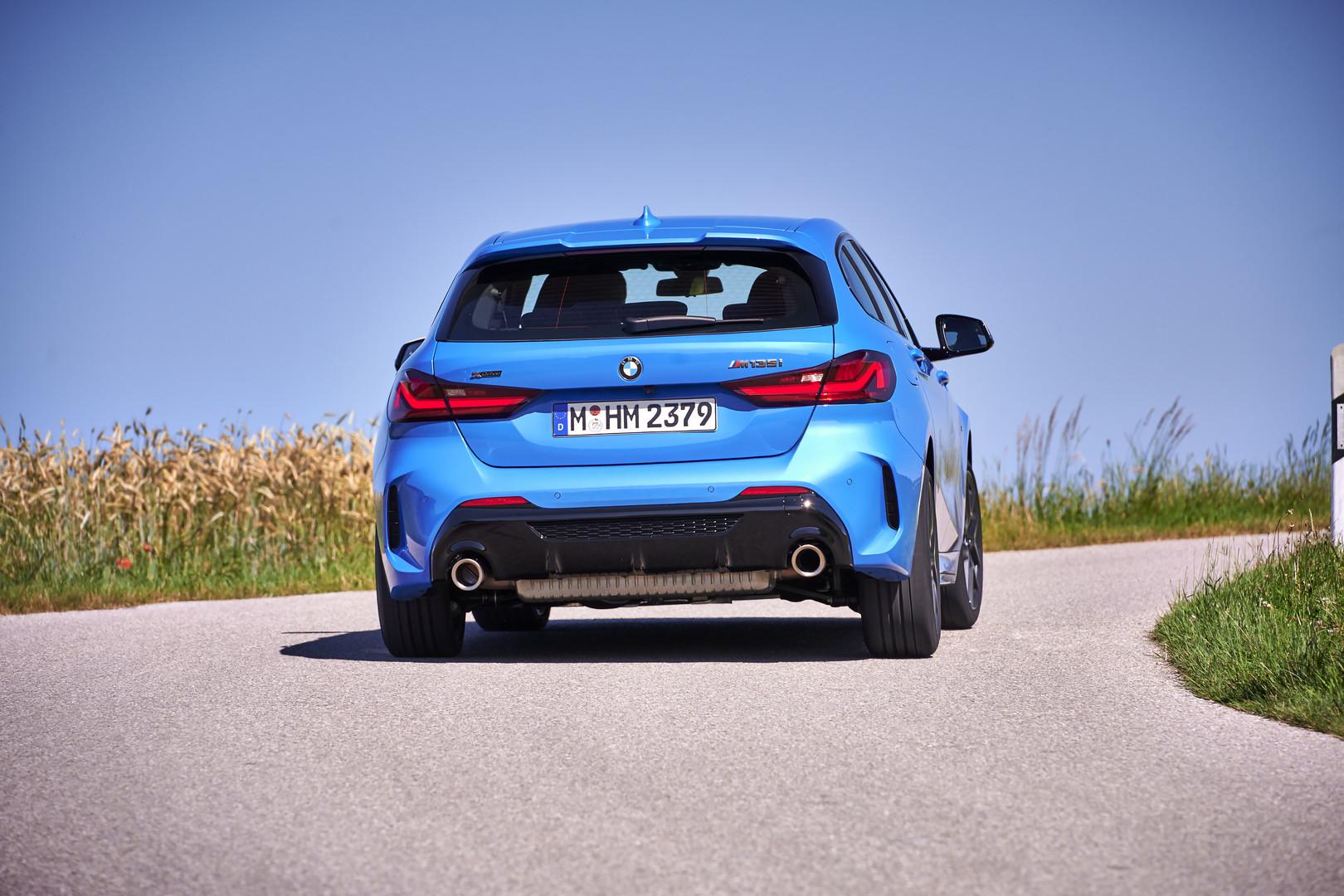Misano Blue BMW M135i