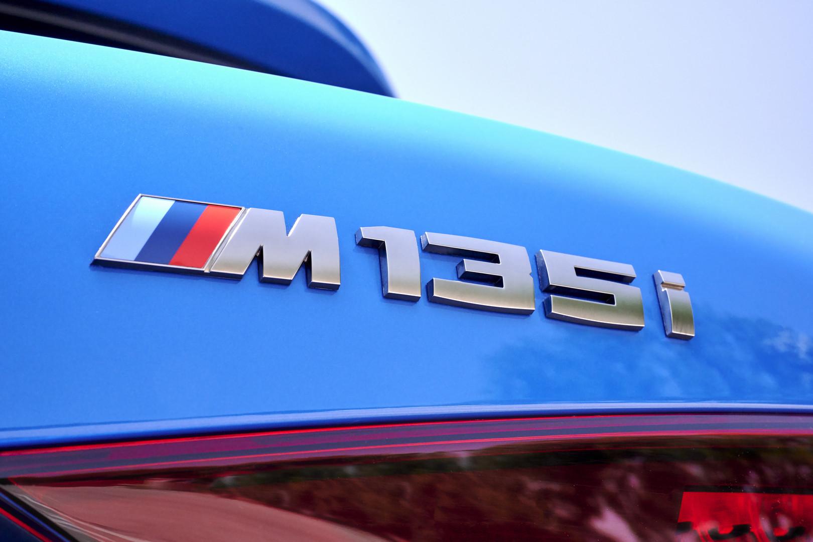BMW M135i Badge