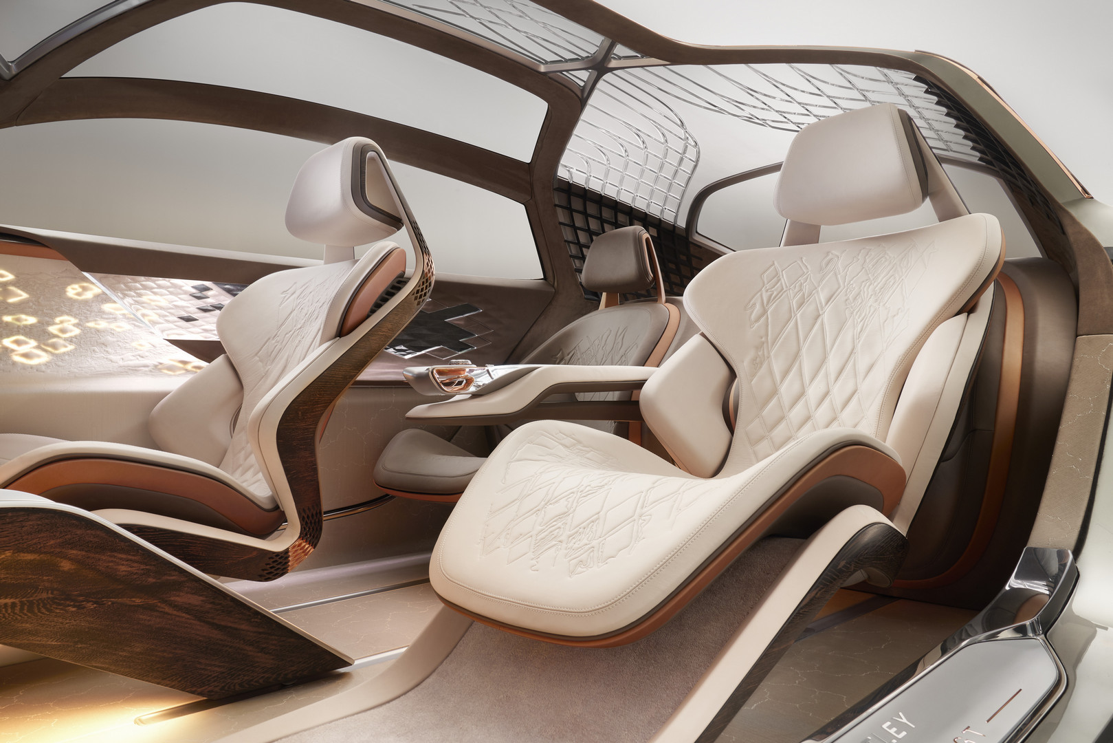 Bentley EXP 100 GT Seats