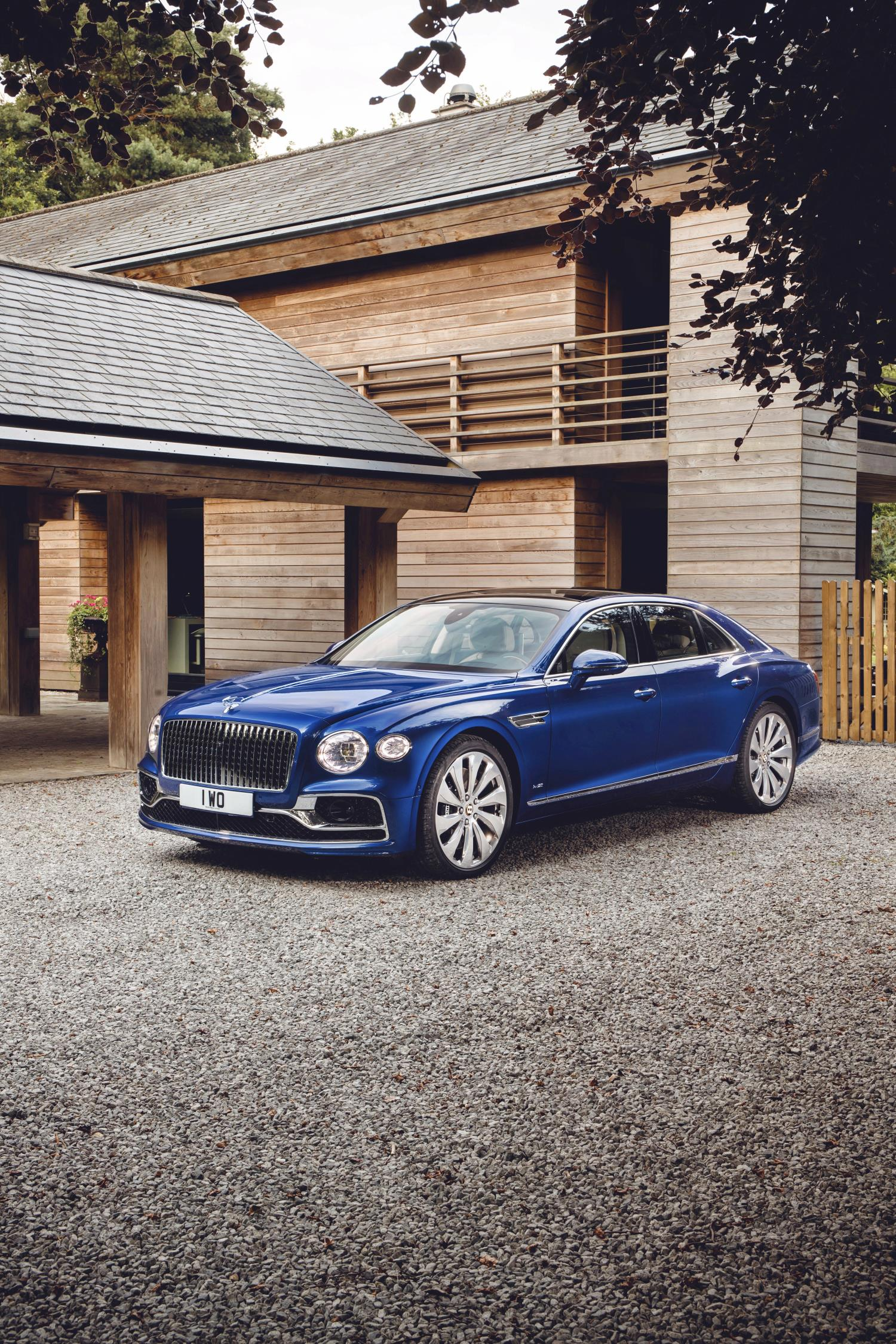 Bentley Flying Spur First Edition Phone Wallpaper
