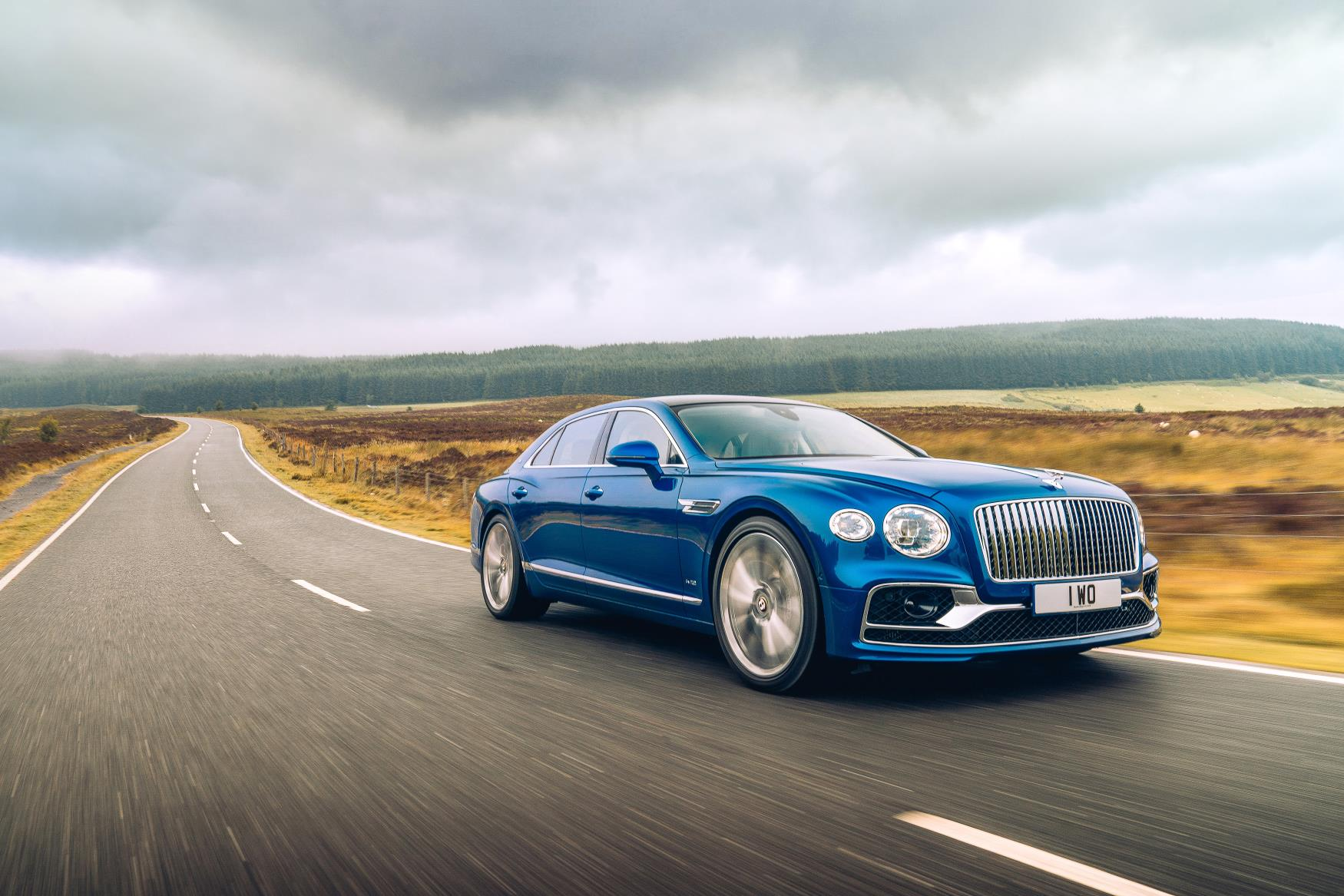 Bentley Flying Spur First Edition Wallpaper