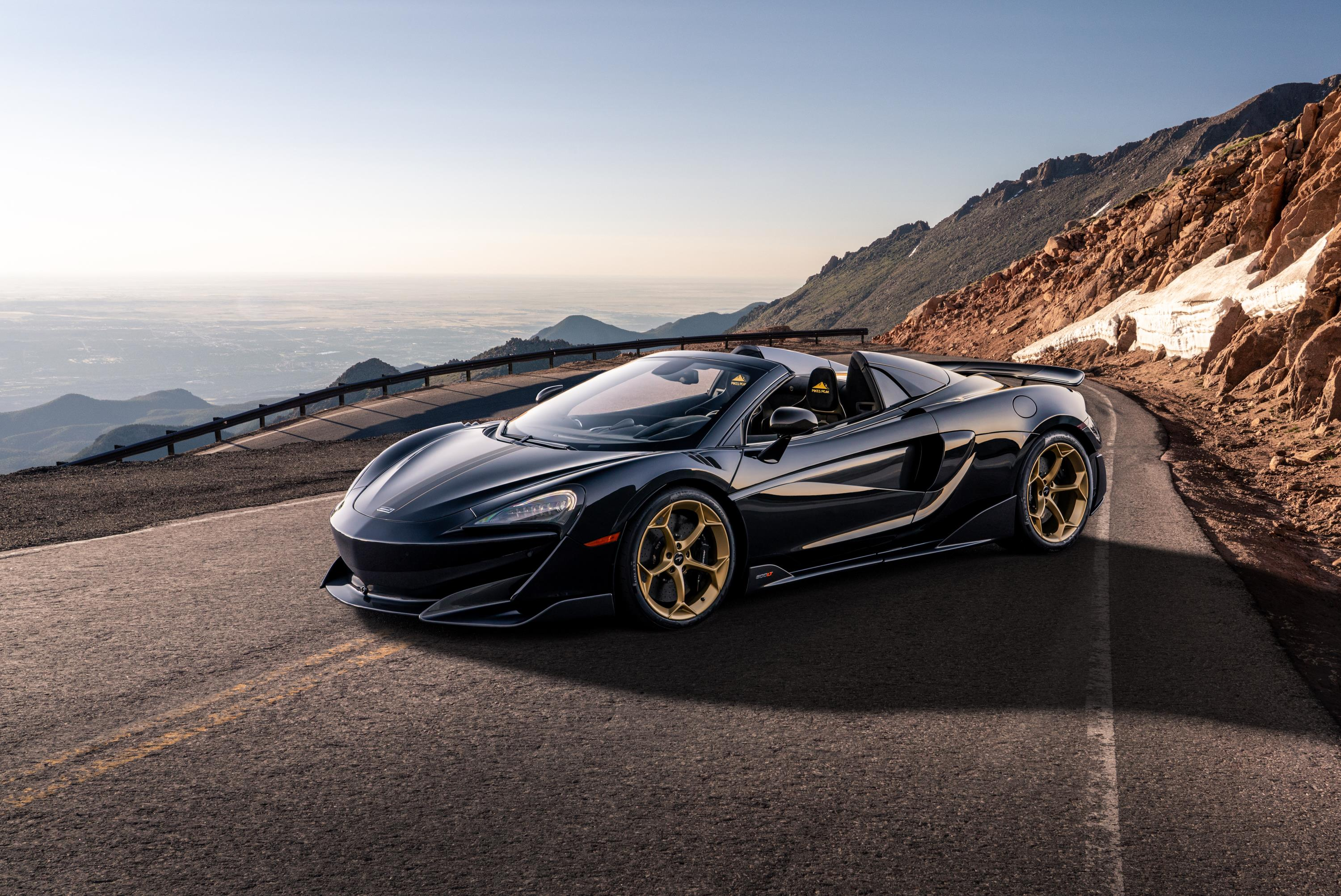 Black Gold McLaren 600LT Spider