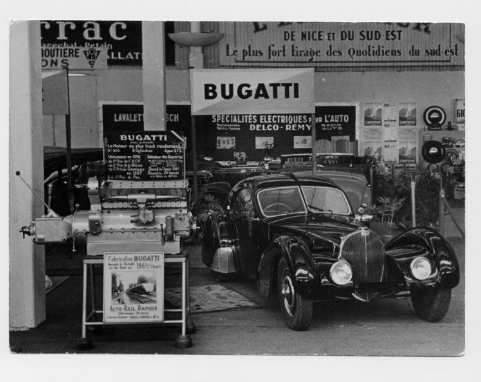 Bugatti Type 57SC Atlantic Le Voiture Noire