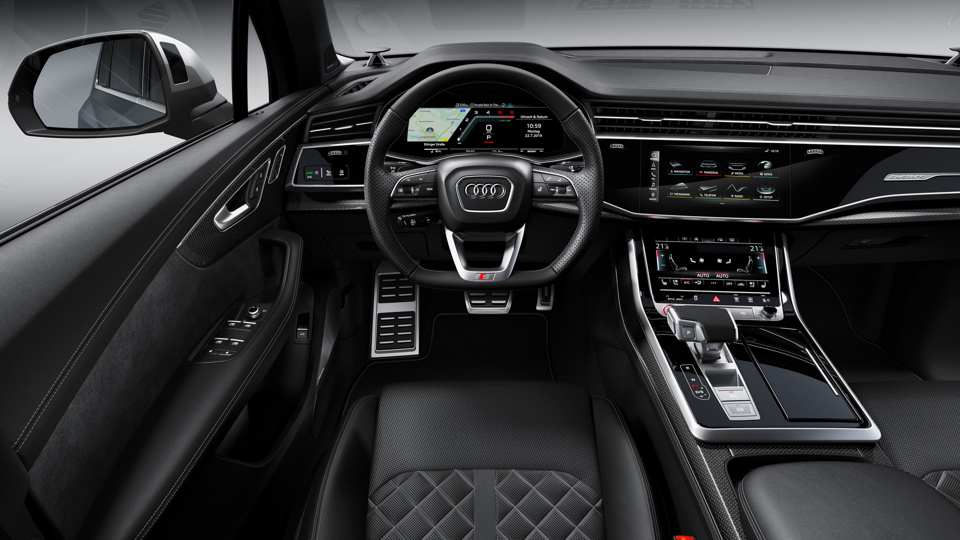 Audi SQ7 TDI Steering Wheel