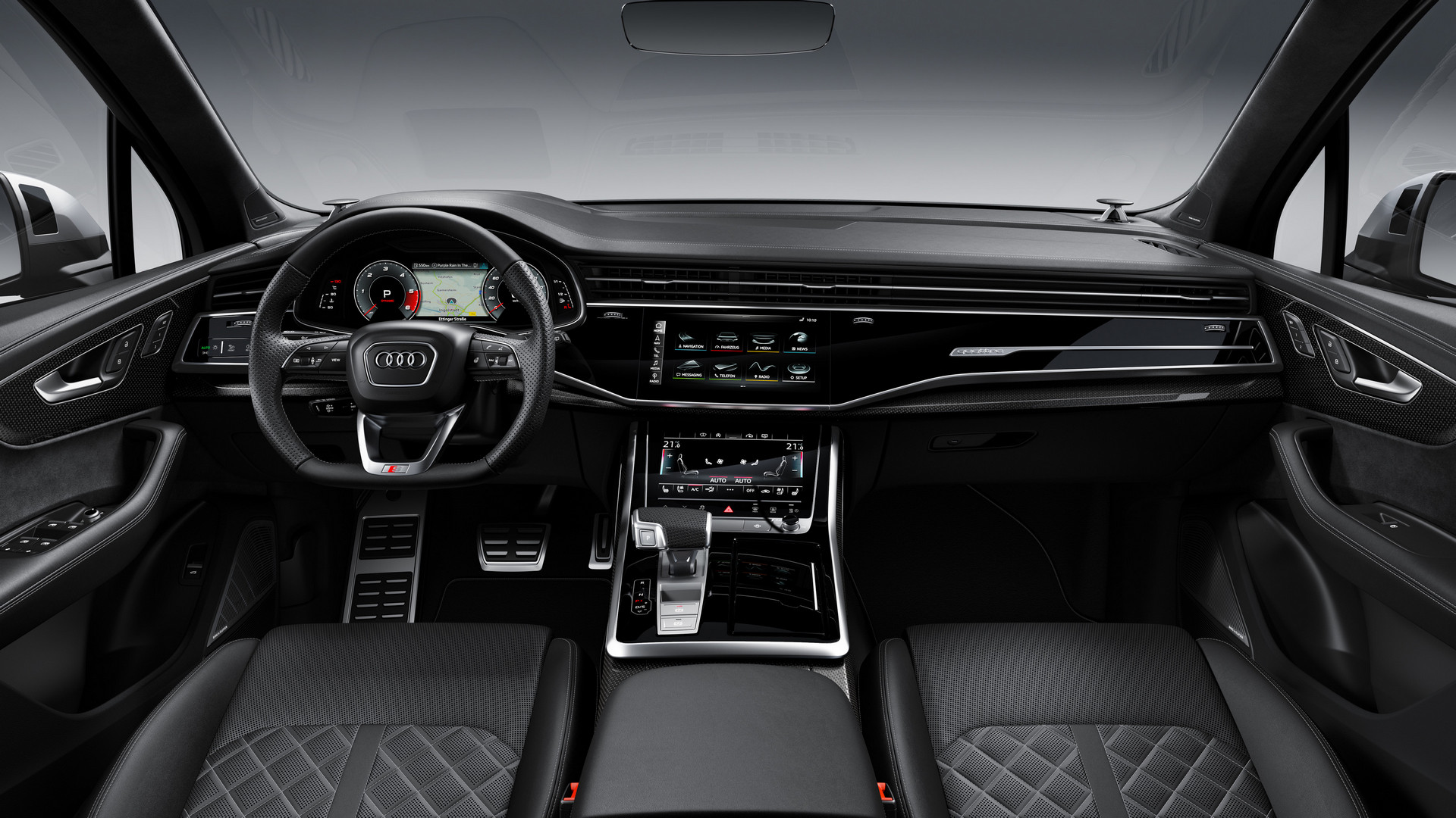 2020 Audi SQ7 TDI Interior