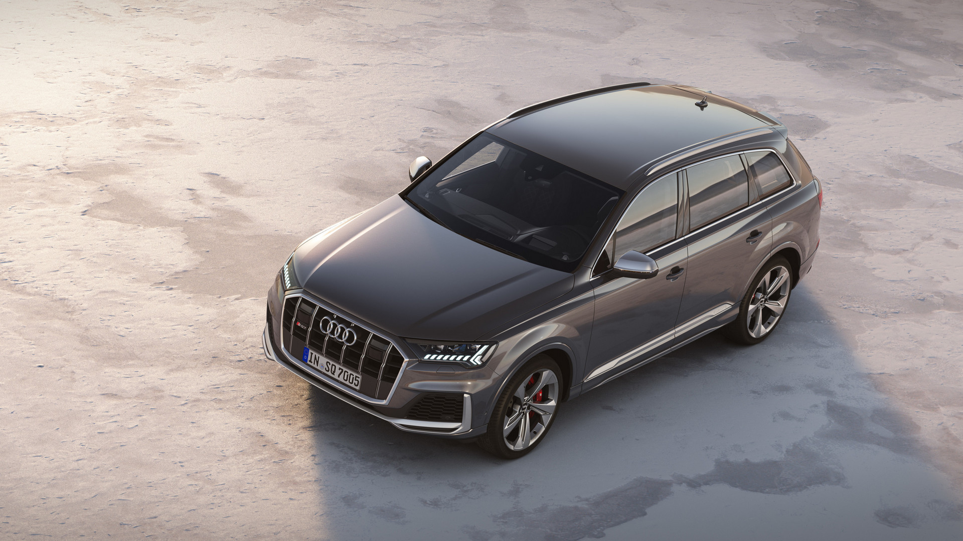 Audi SQ7 TDI Top View