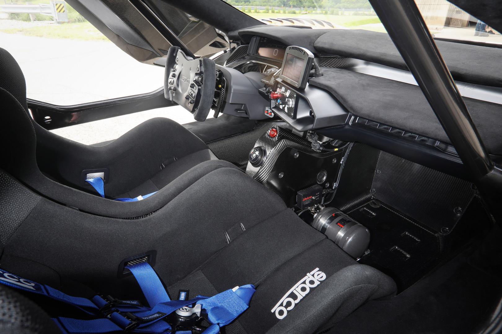 Ford GT Mk II Interior