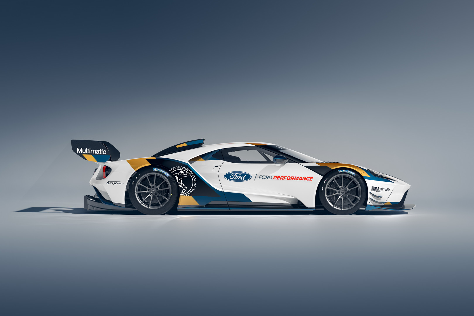 Ford GT Mk II Side View