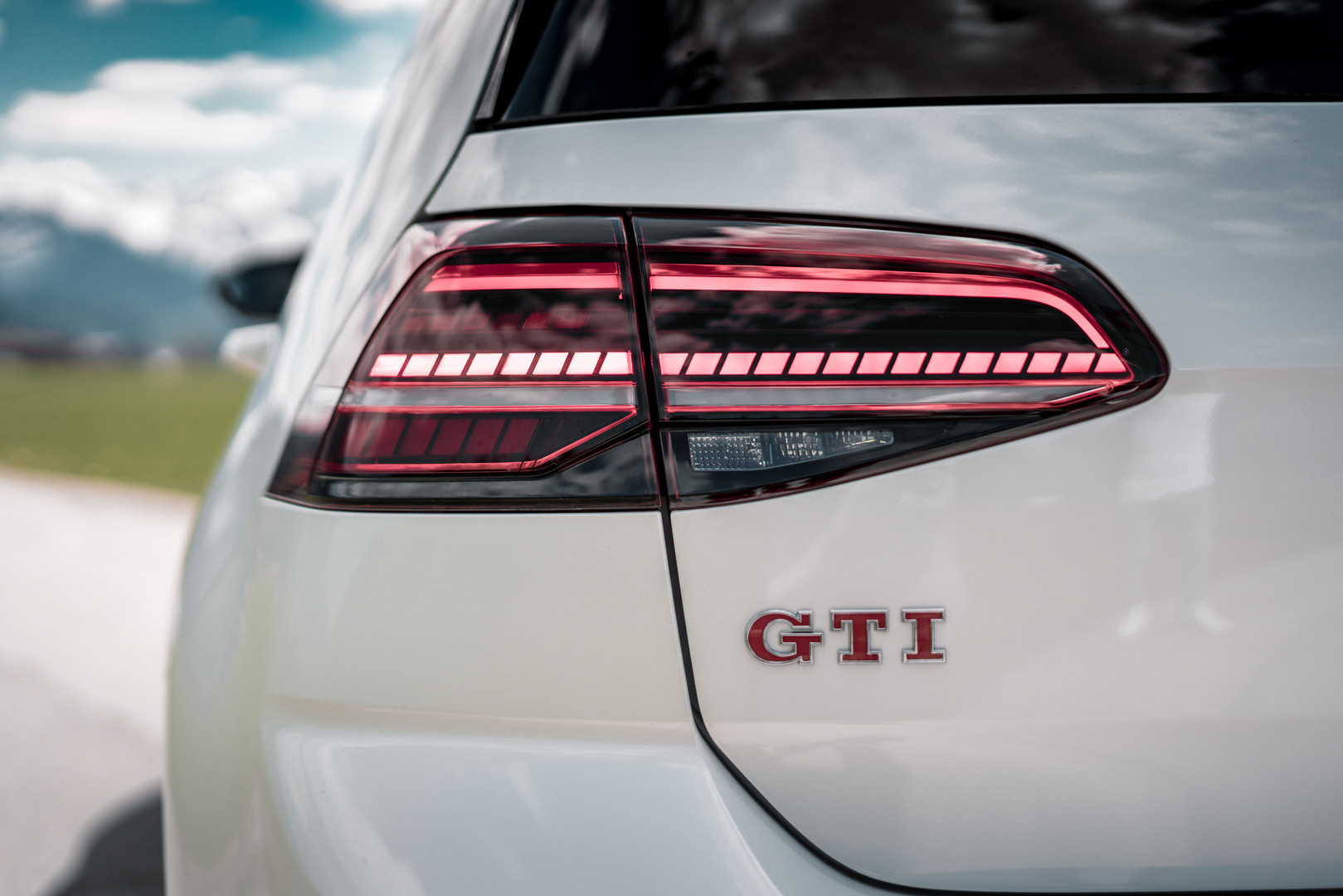 Golf GTI Badge Rear