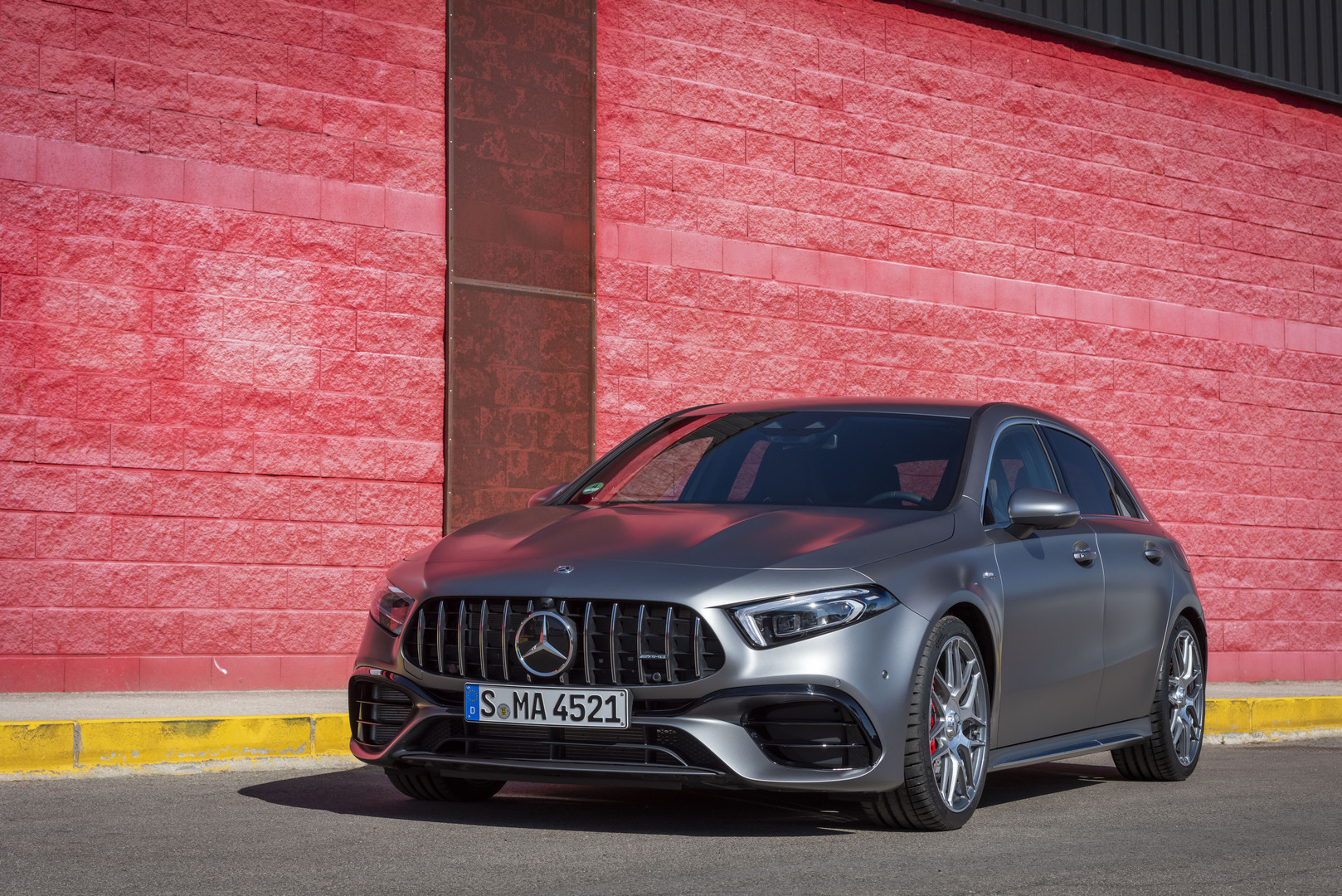 Mountain Grey Mercedes-AMG A45 S