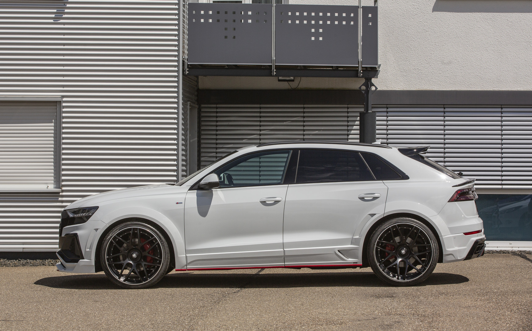 Tuned Audi Q8 Side View