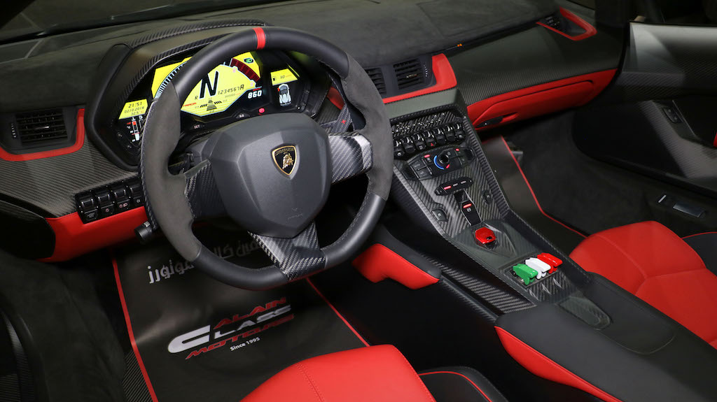 Lamborghini Veneno Roadster Steering Wheel