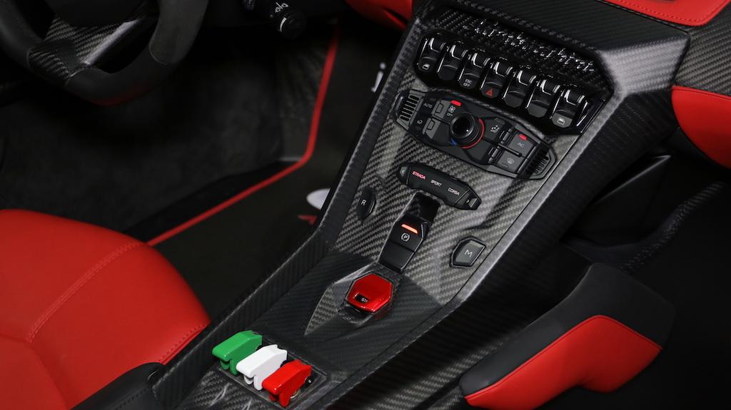 Lamborghini Veneno Roadster Controls