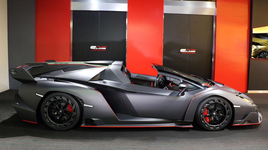 Lamborghini Veneno Roadster Side View