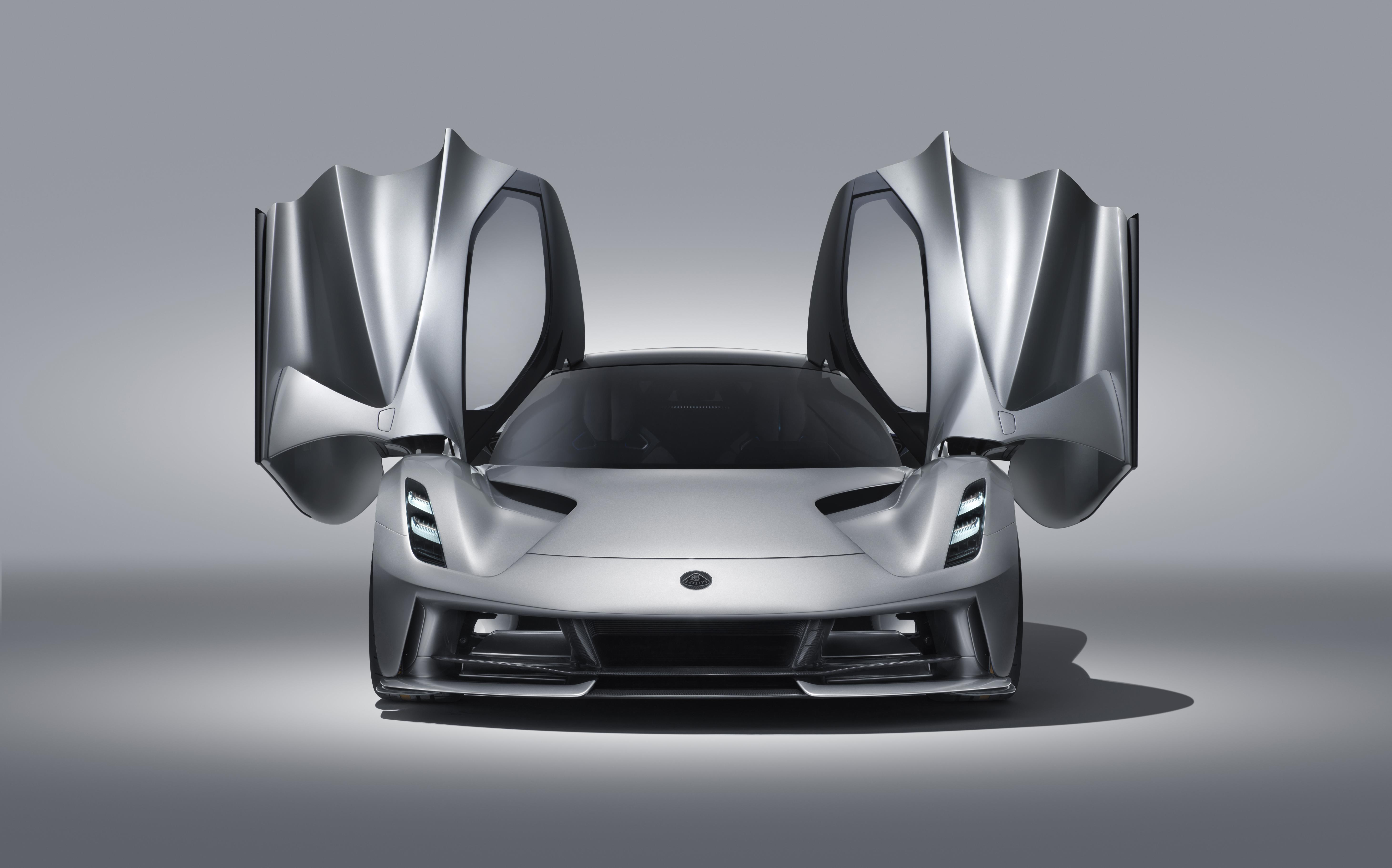 Lotus Evija Doors up
