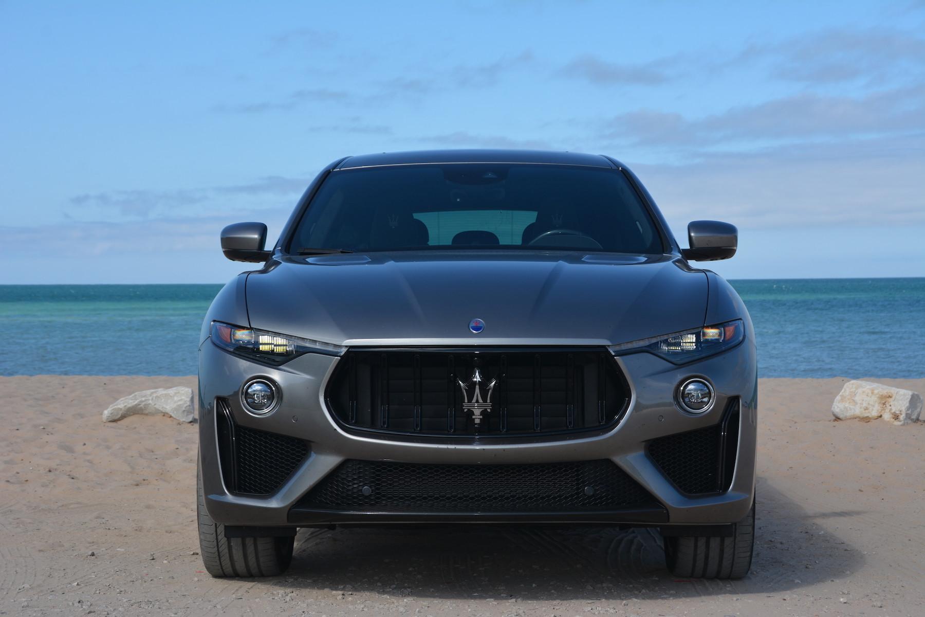 Maserati Levante Trofeo Front View