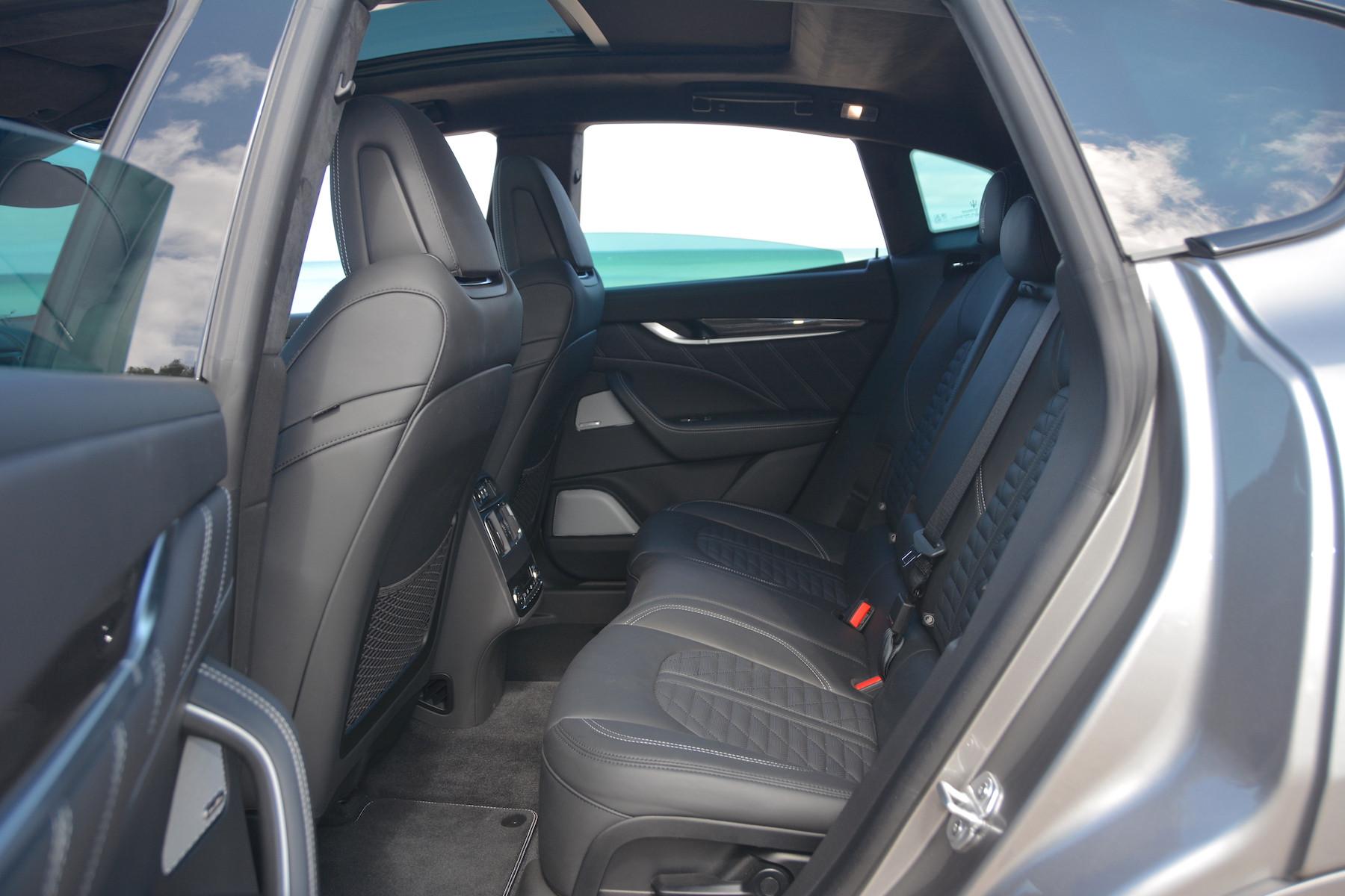 Maserati Levante Trofeo Leg Room