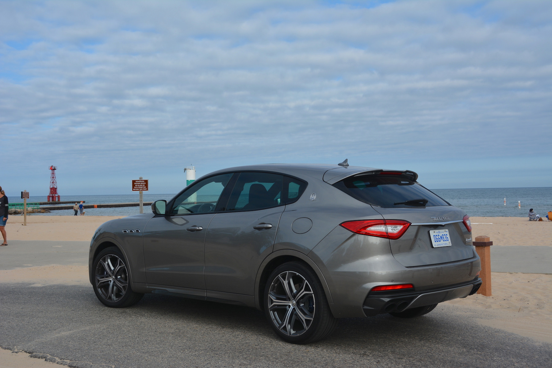 Maserati Levante Trofeo Rear Side