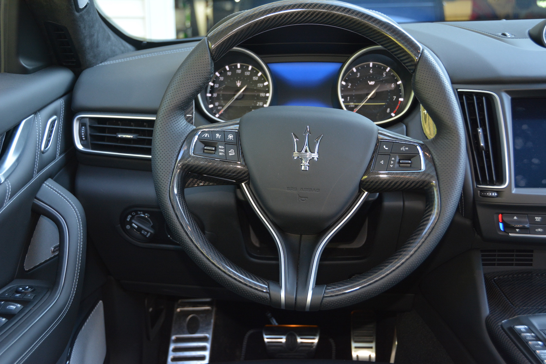 Maserati Levante Trofeo Steering Wheel